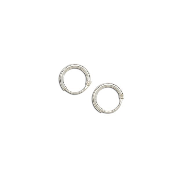 Cherished Moments Sterling Silver Tiny Hoop Earrings For S