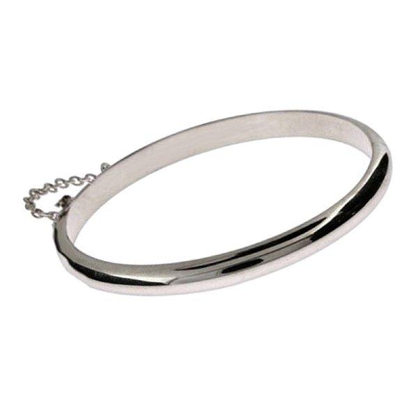 Cherished Moments Ella Sterling Silver Clic Bangle Bracelet