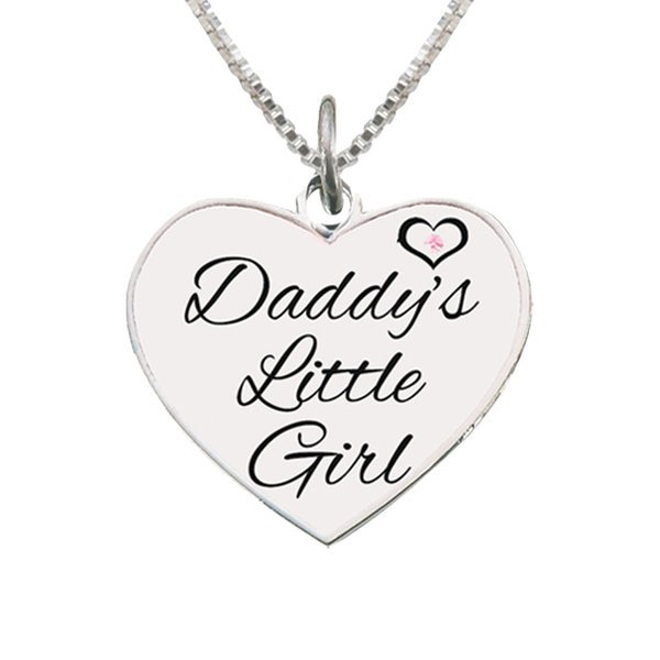b59c5061e6d Cherished Moments-Daddy's Little Girl Sterling Silver Necklace