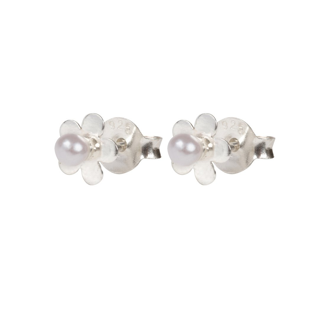 Cherished Moments Daisy Pearl Earrings For Children