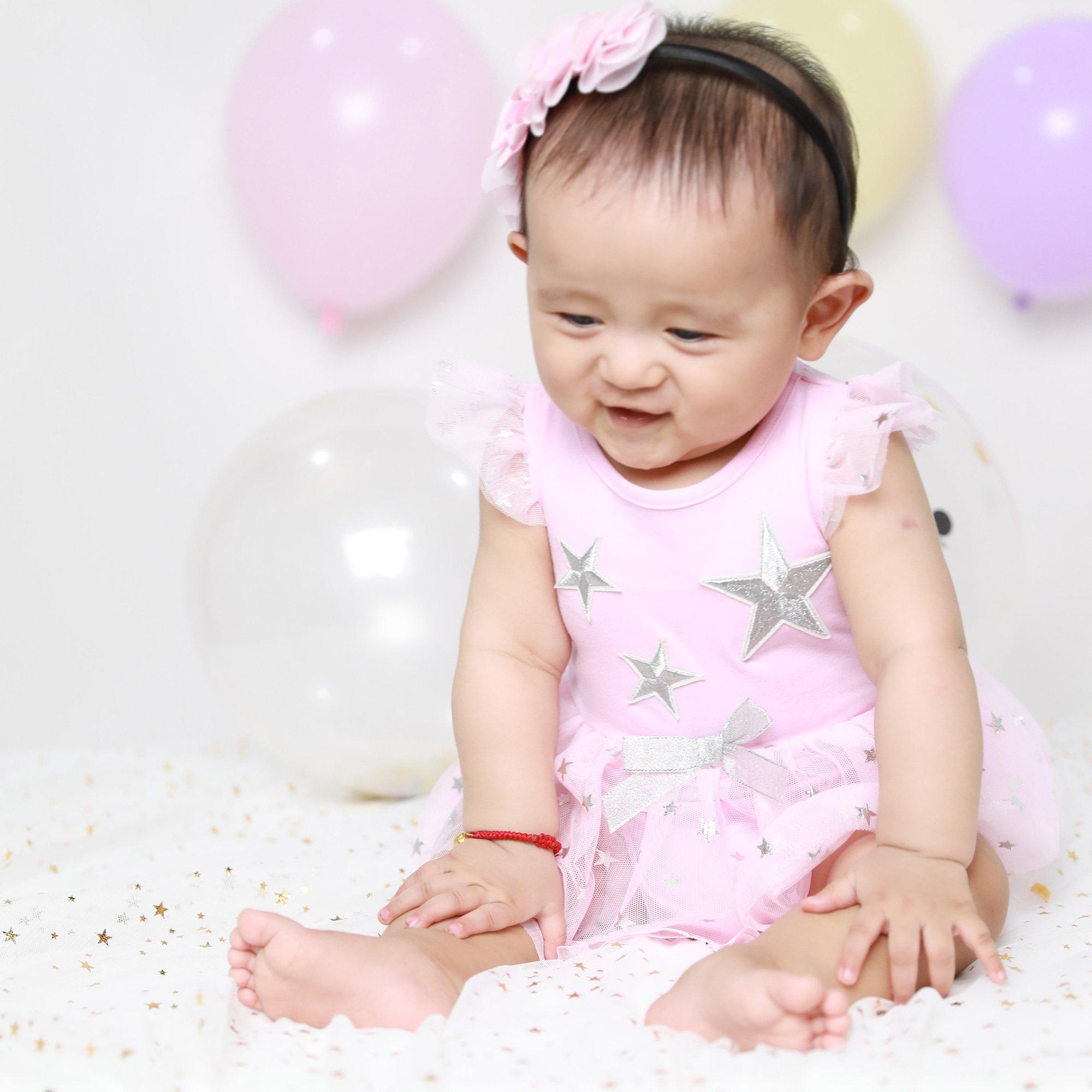 fd42908da63b For Beloved Children Star Onesie with Pink Tutu Skirt