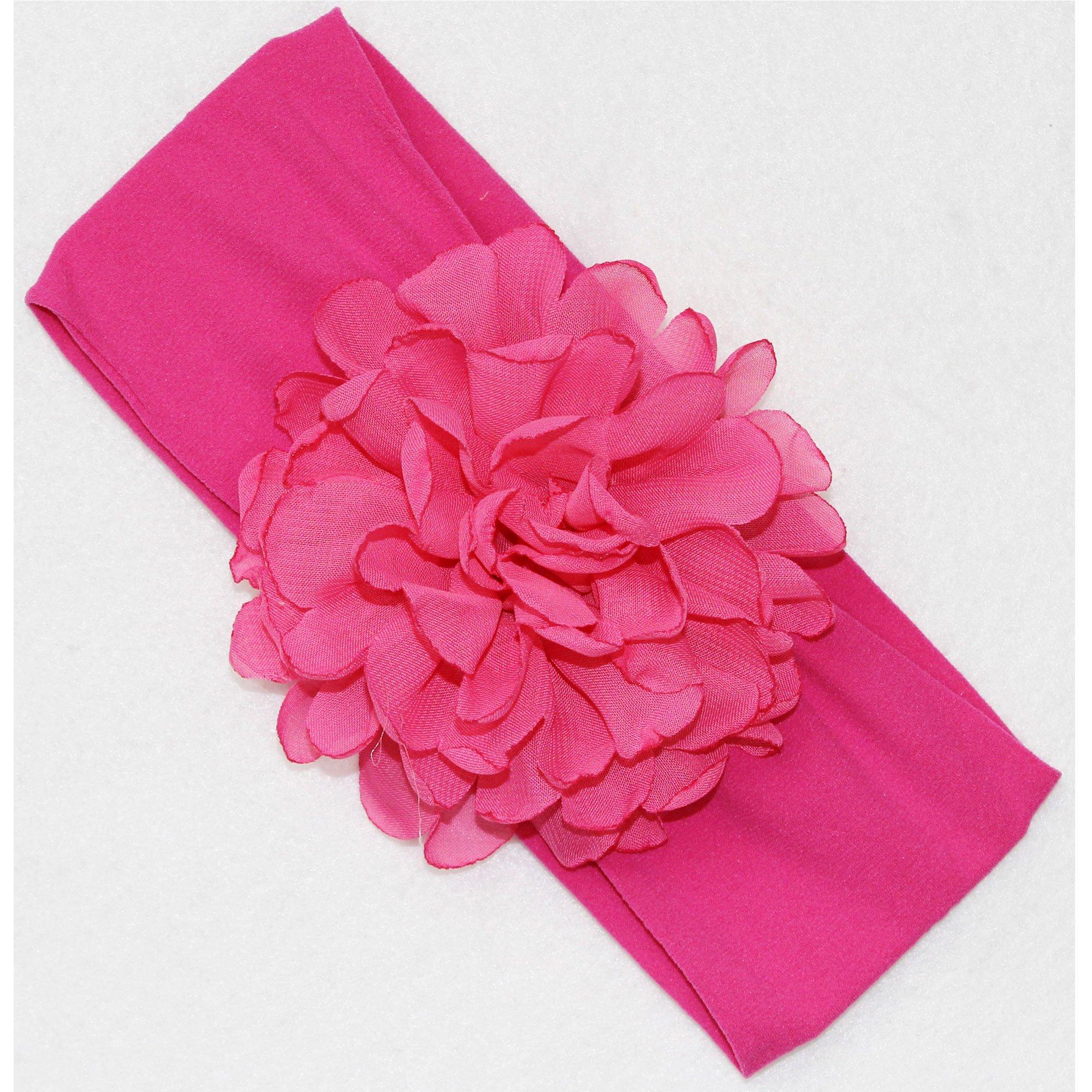 Beyond Creations Fuchsia Peony Bloom Flower Headband