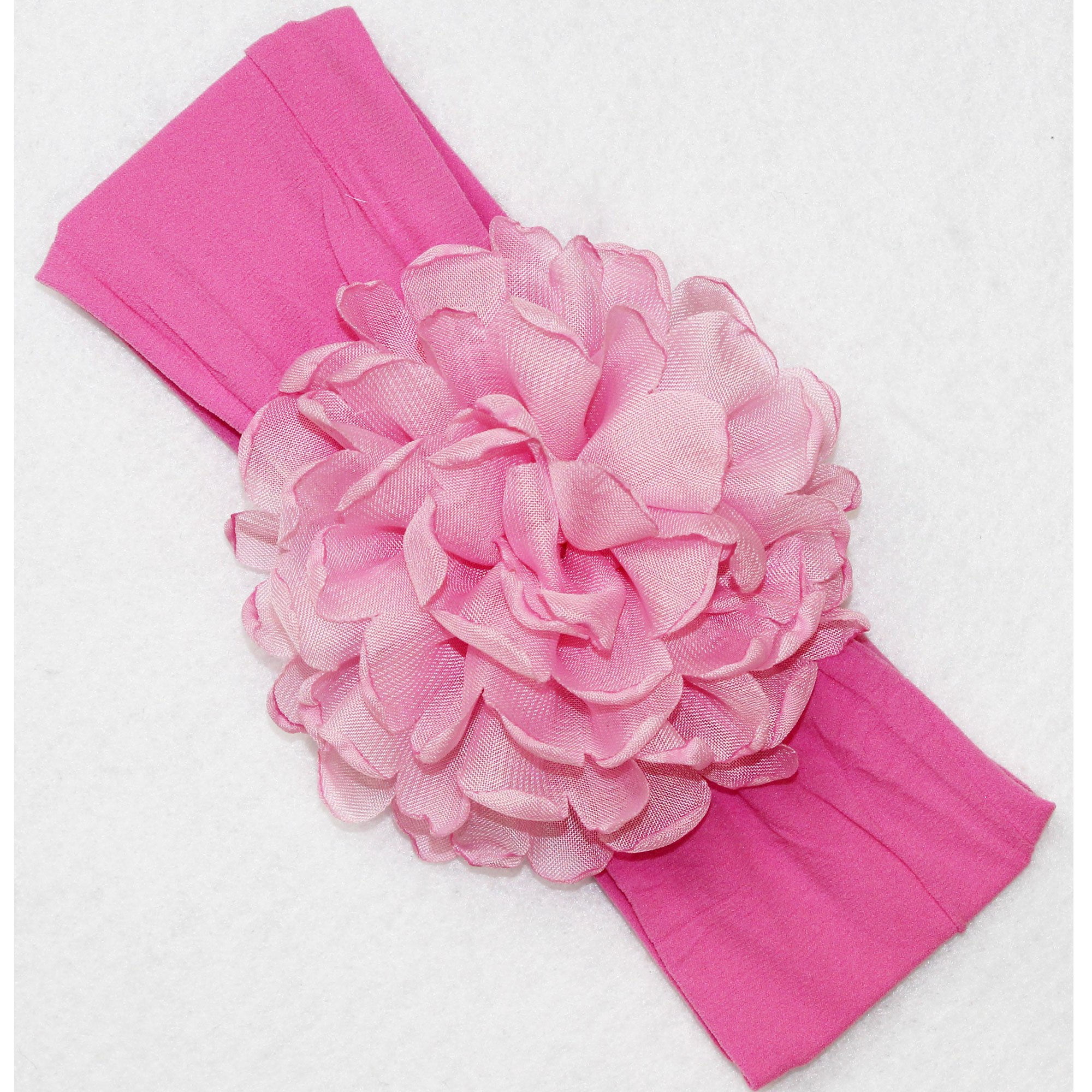 Beyond Creations Hot Pink Peony Bloom Flower Headband