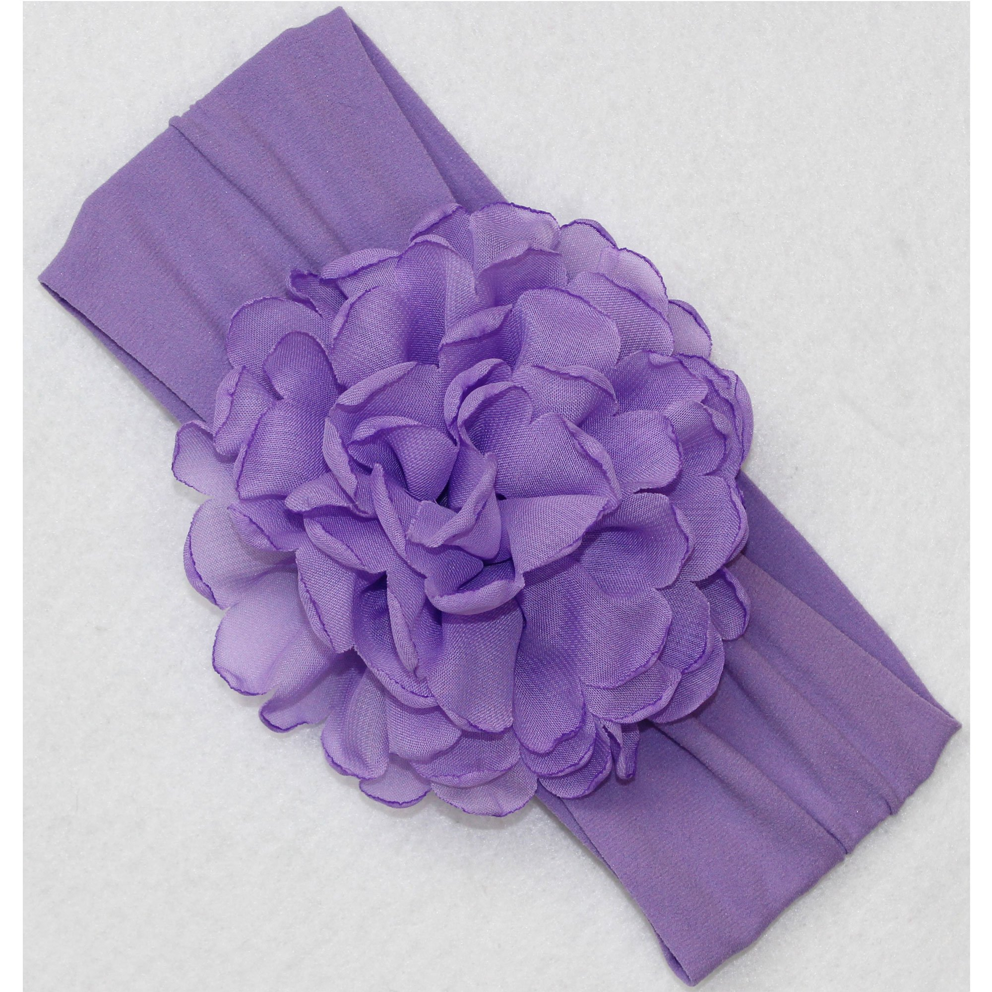 Beyond Creations Purple Peony Bloom Flower Headband