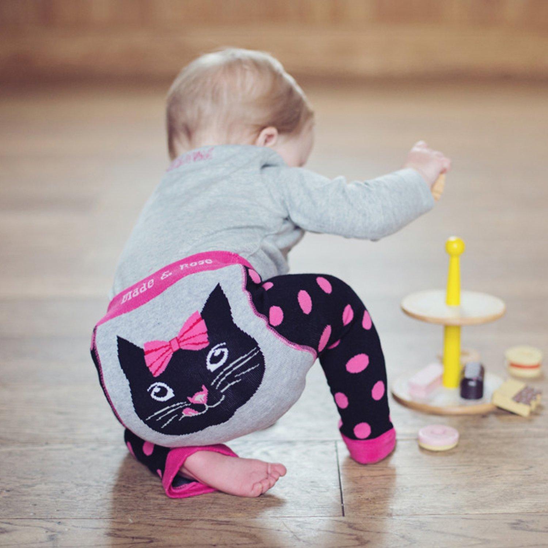 1716db40ab3c Blade   Rose Katie Kitten Leggings for Baby Girls