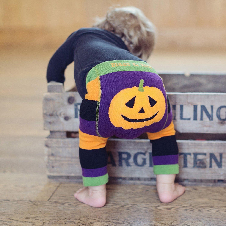 blade rose patty pumpkin halloween leggings for baby