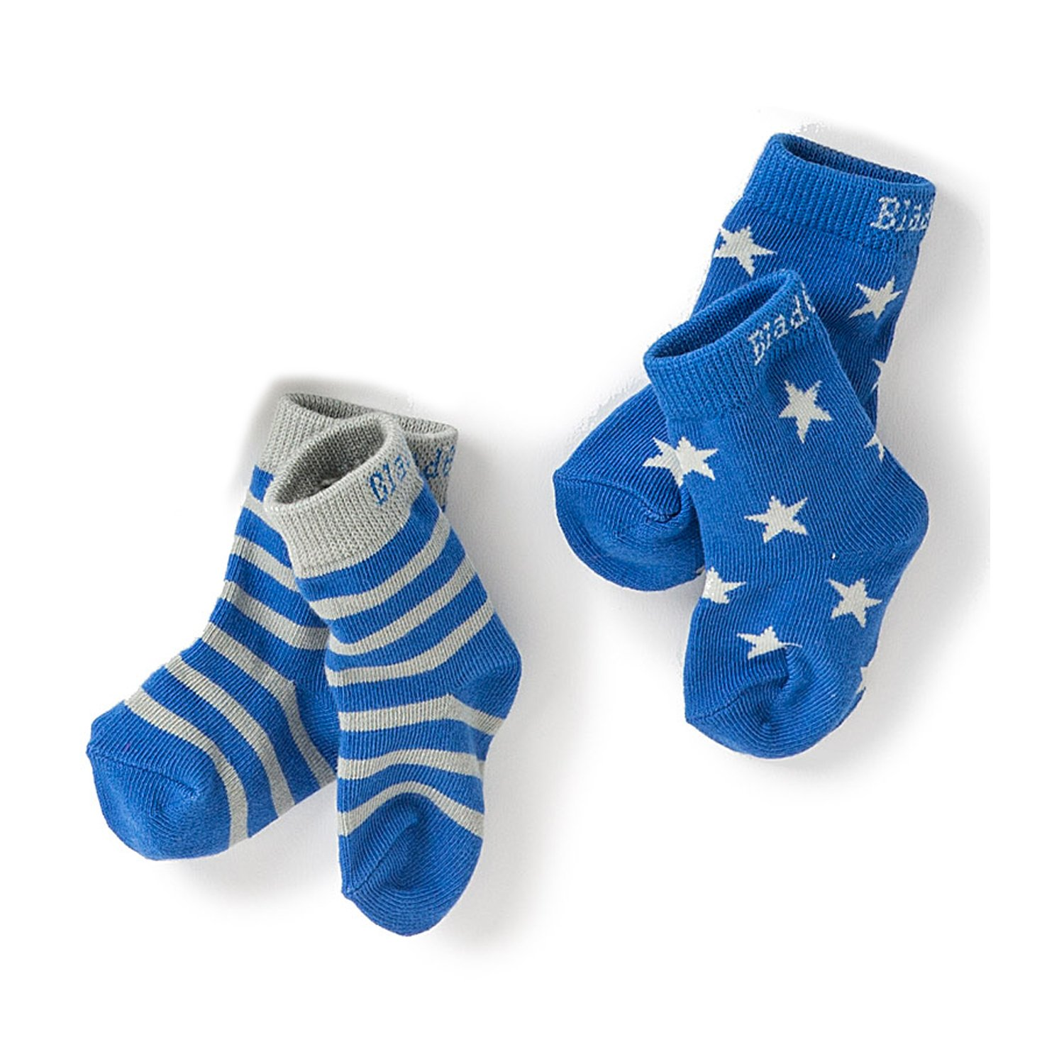 Blade & Rose Star 2 Pair Socks for Baby Boys
