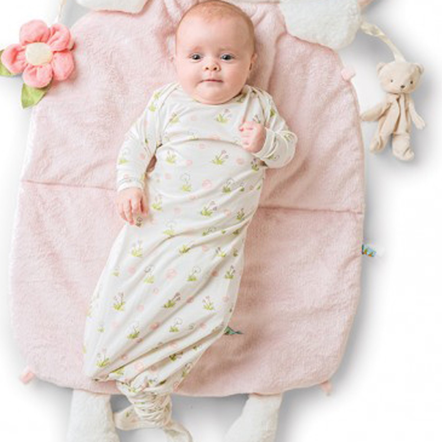 Bunnies By The Bay Delightful Knotty Nighty & Cap Set