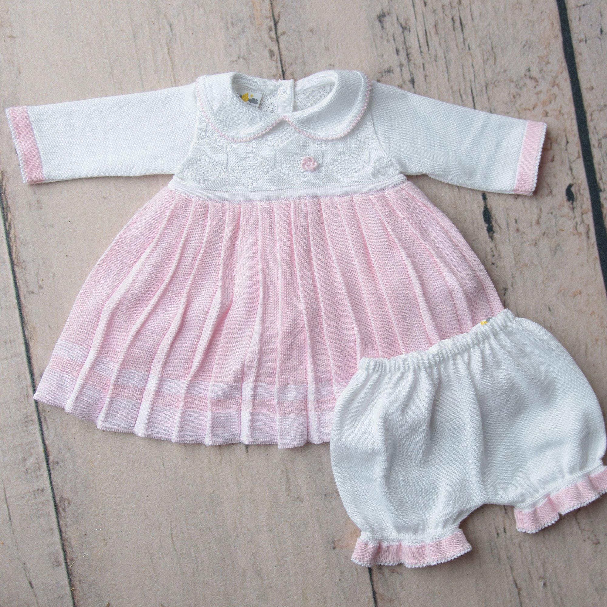 83fcc30ea228 Dolce Goccia Charlotte 2 Pc. Dress and Bloomer Set