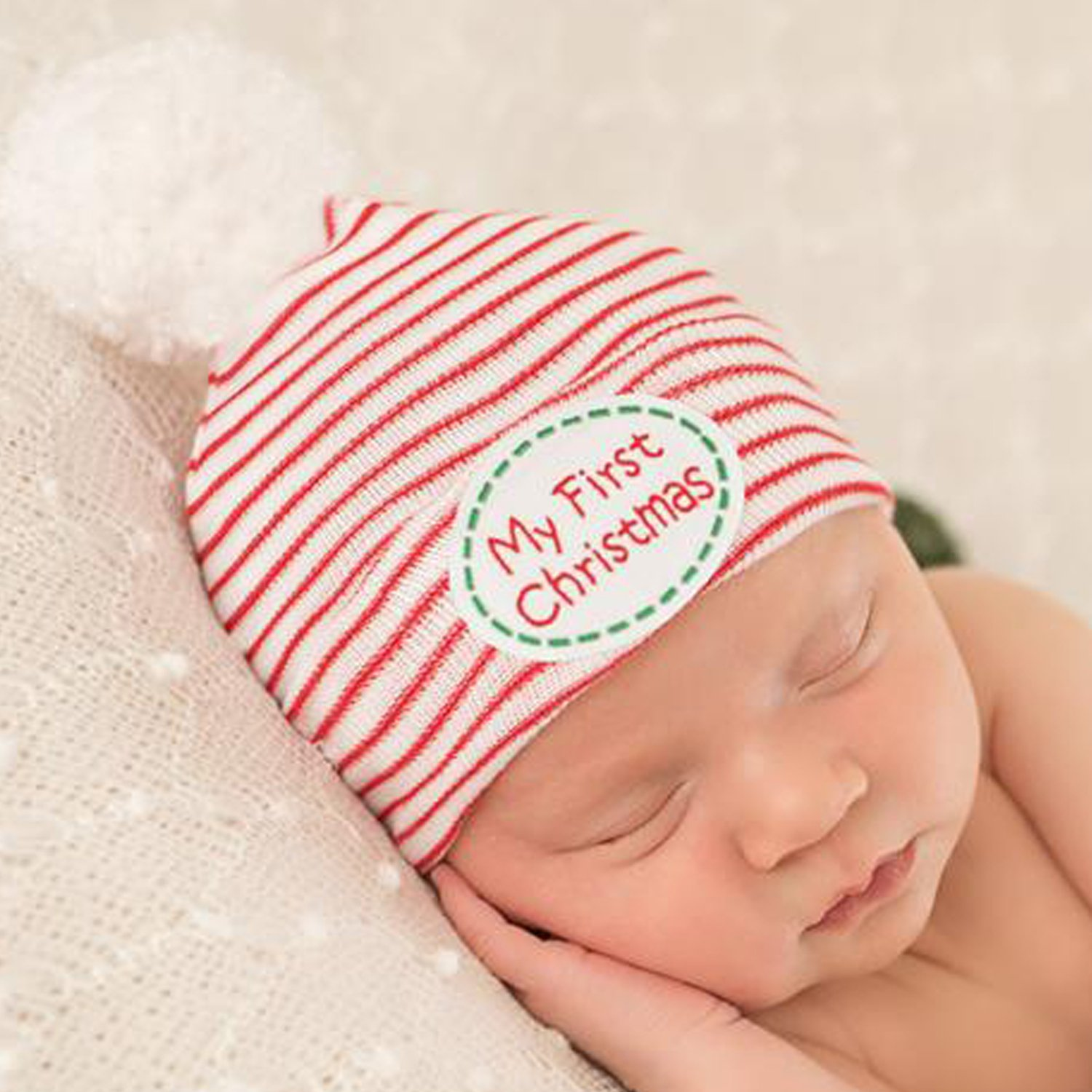 Baby's First Christmas Outfit | Newborn Christmas Photo Ideas | Baby Bling Street Baby Fashion Boutique