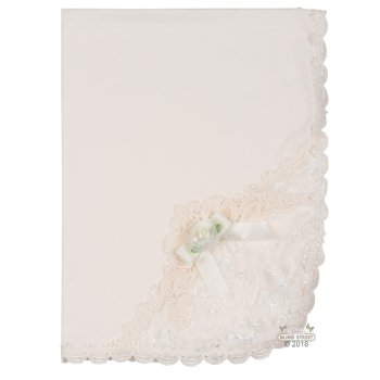 e570207c516b atie Rose Alessandra Ivory Blanket for Baby Girls