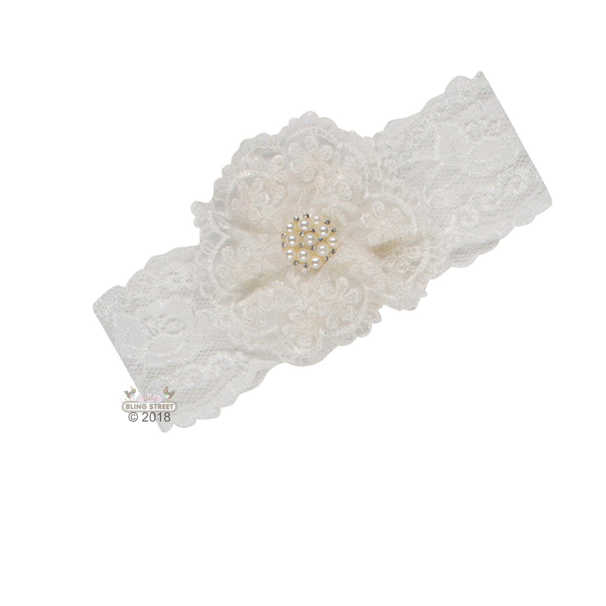d8d2c3e84733 Katie Rose Nelly Headband for Newborn and Baby Girls