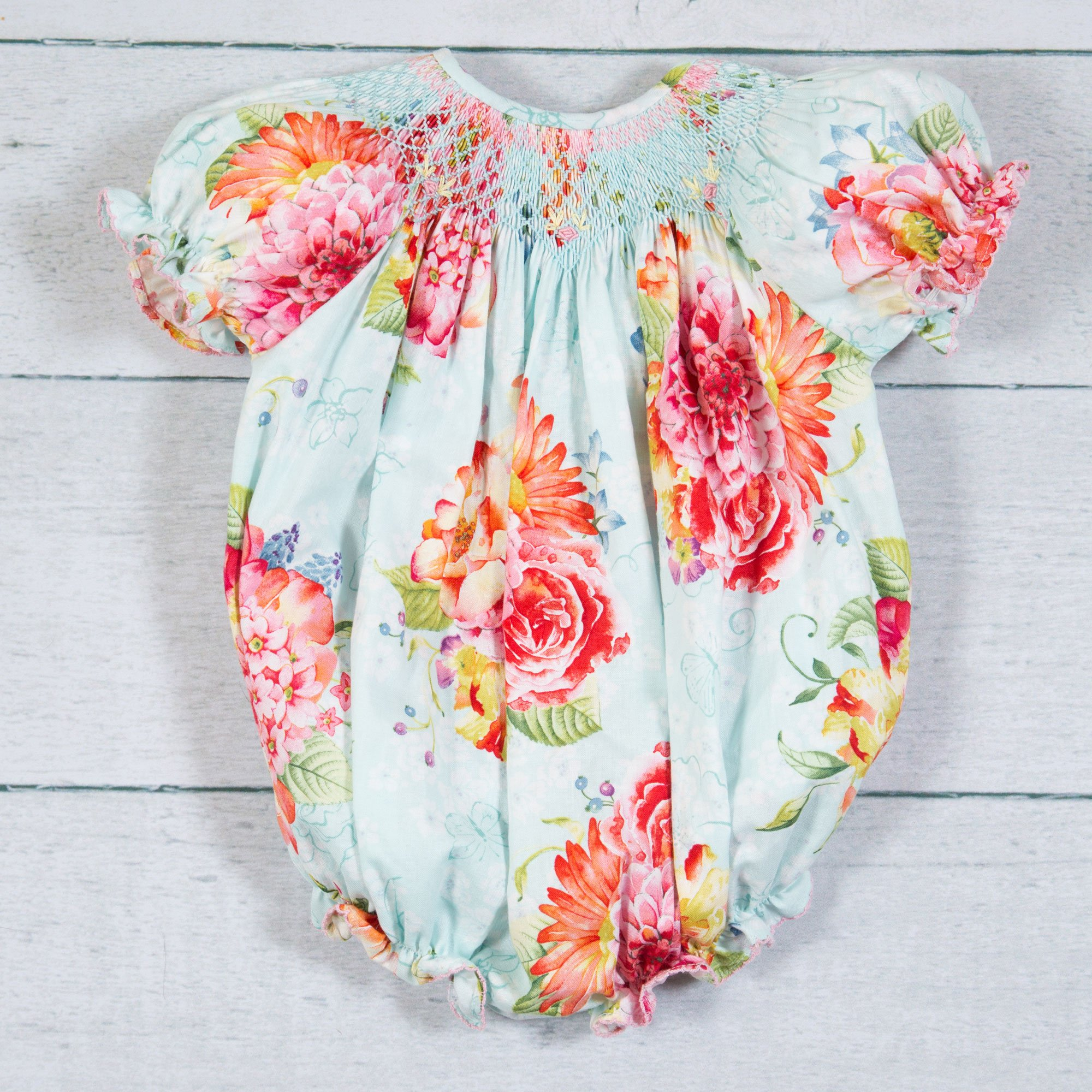 Lé Za Me Spring Bouquets Ann Bubble for Baby Girls