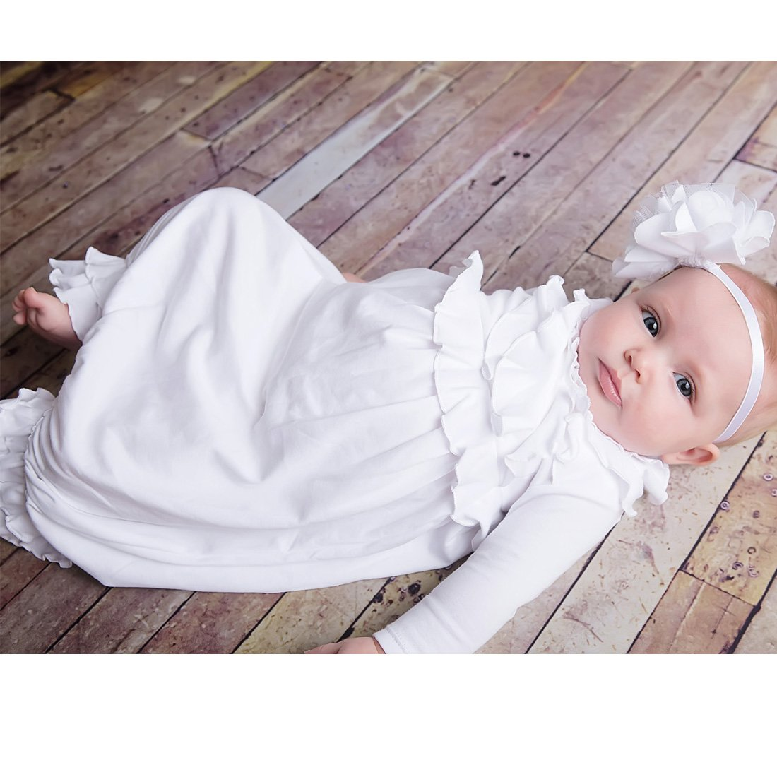 Newborn Gown-Lemon Loves Layette-Jenna