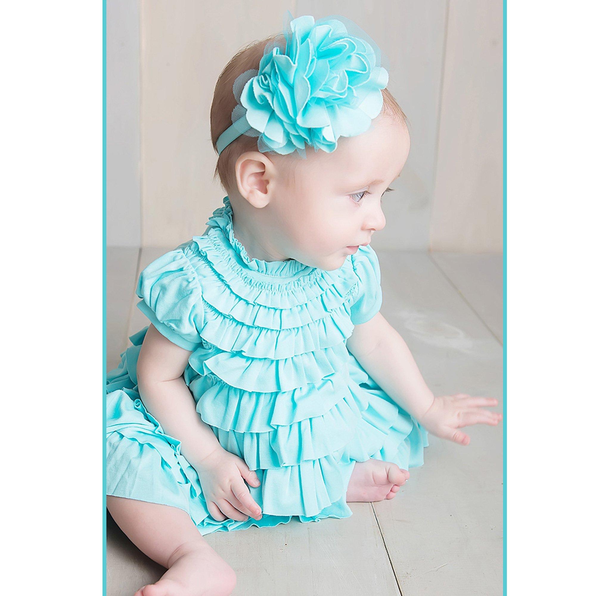 65ef6c611 Lemon Loves Layette Jane Ruffled White Baby Dress