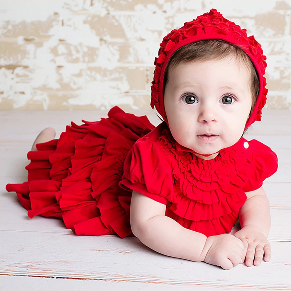 e26c7863273 Red Baby Dress for the Holidays from Lemon Loves Layette - Jane Dress
