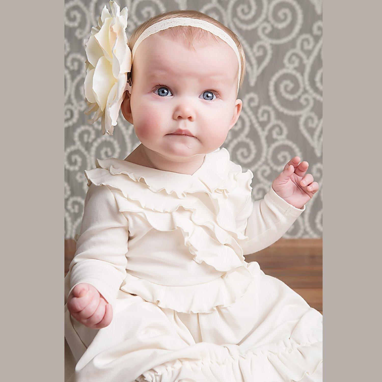 2af41939c Lemon Loves Layette-Jenna Gown-Eggnog