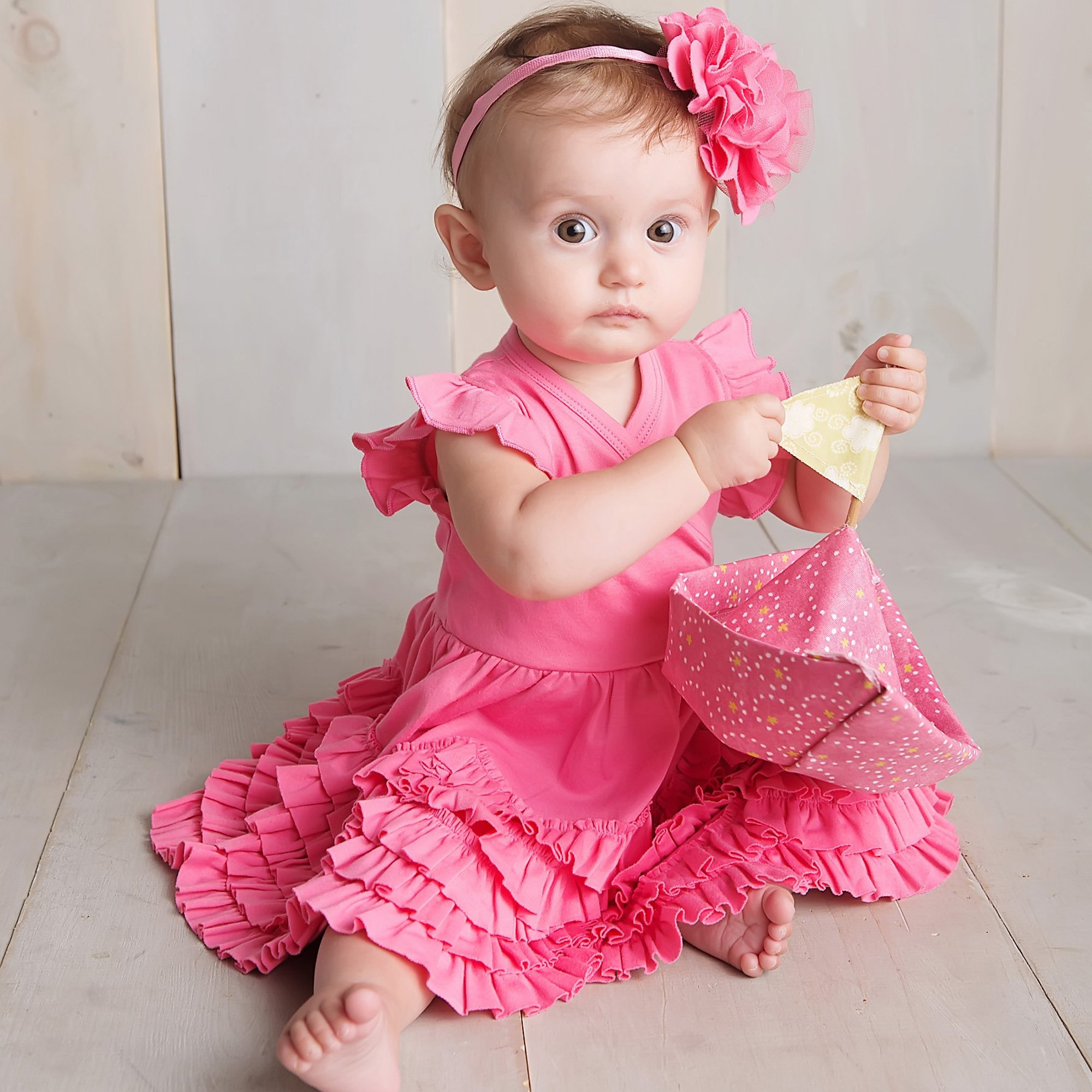 Lemon Loves Layette  Mia  Dress in Pink Lemonade  sc 1 st  Baby Bling Street & Lemon Loves Layette Mia Dress in Pink Lemonade