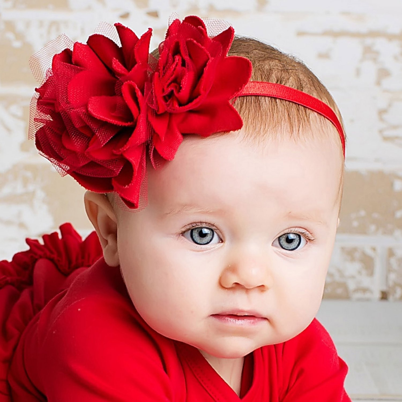 Lemon Loves Layette Headband-Red ff392c6c1cf