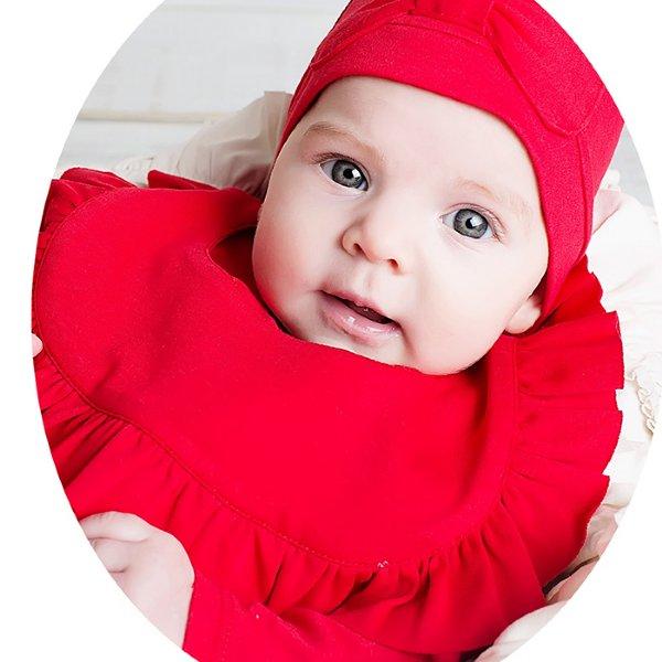 0ad5c543a Baby Bibs-Lemon Loves Layette-Rubie Bib
