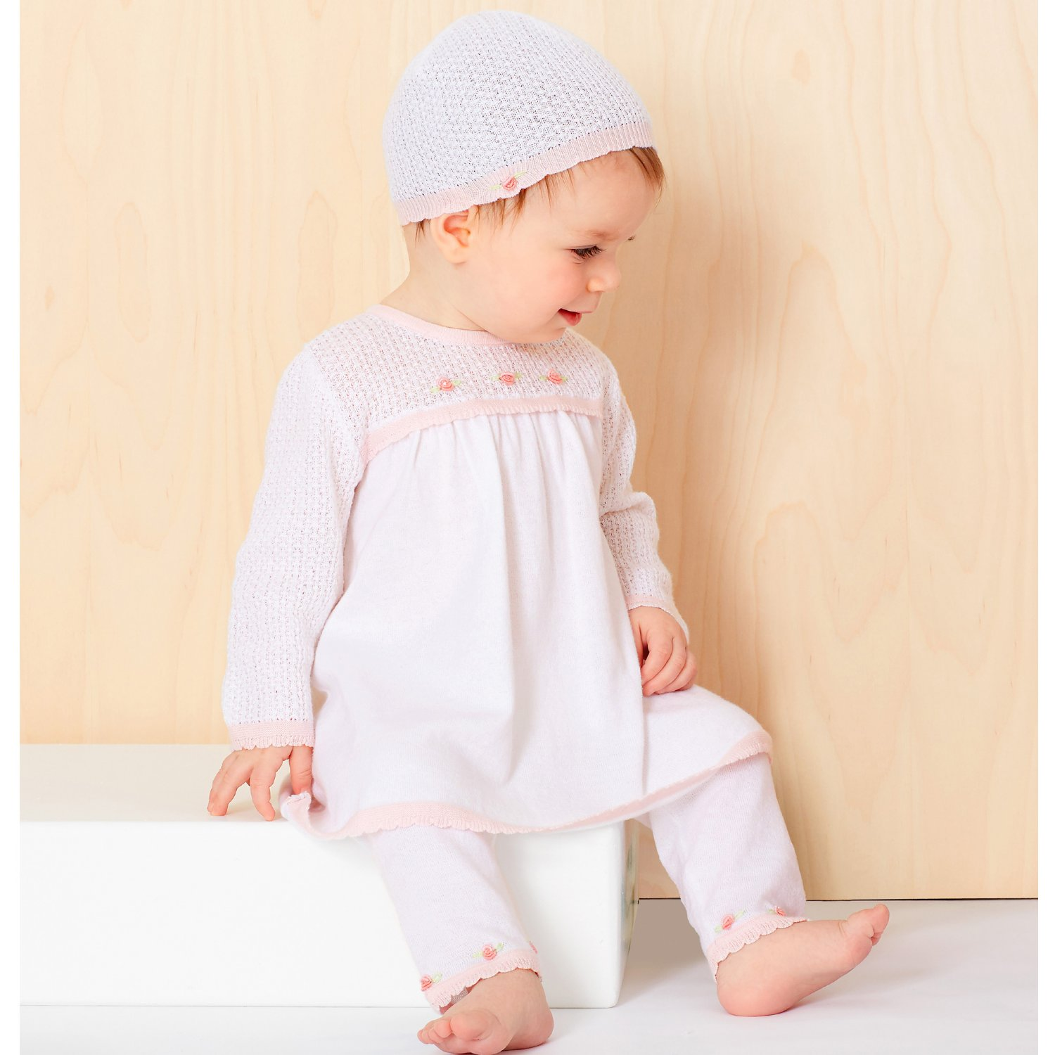 Le Top Baby Girl Knit Dress Treasured Baby