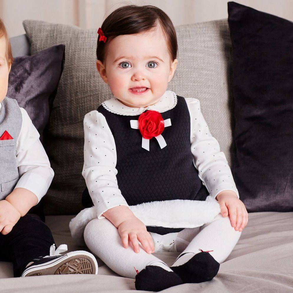 Baby Holiday Outfits | Coordinating Outfits for Family Pictures | Baby Bling Street Baby Fashion Boutique