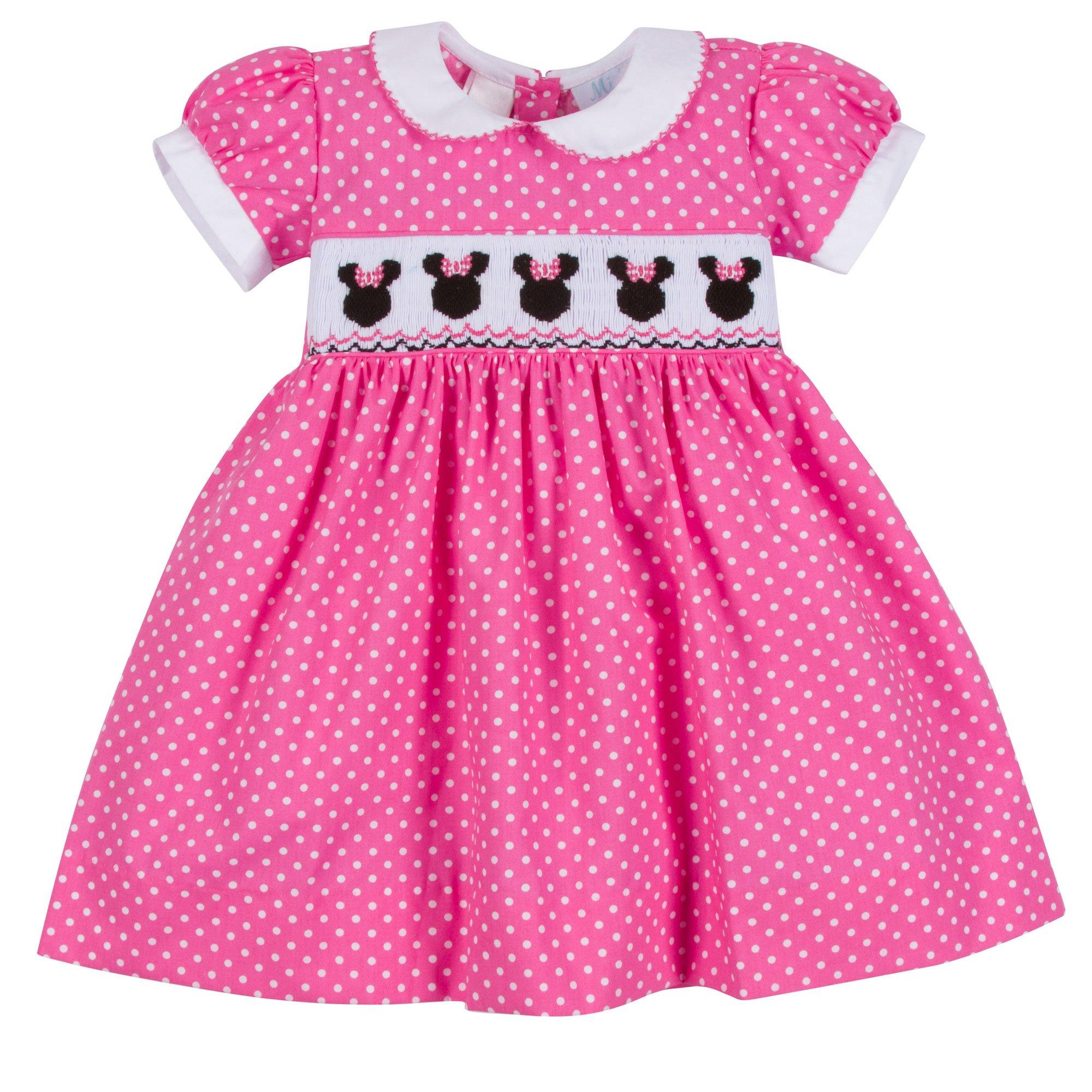 lulu b b minnie mouse dress in pink. Black Bedroom Furniture Sets. Home Design Ideas