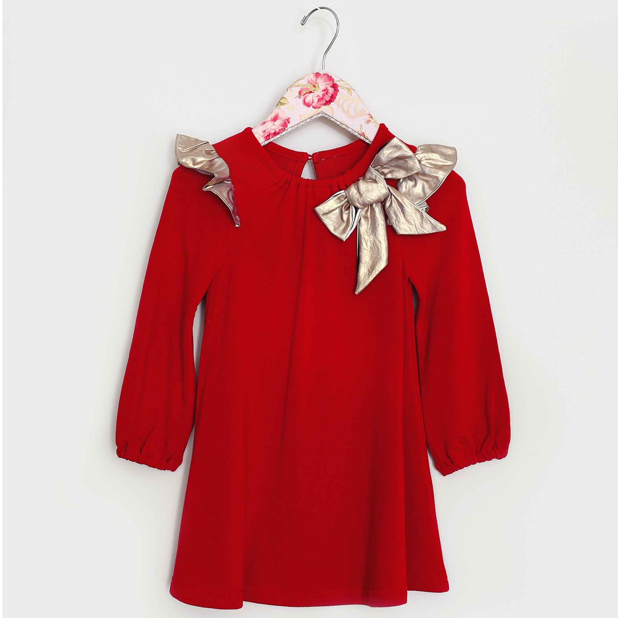 Baby Girl Christmas Dress | Baby Bling Street Baby Fashion Boutique