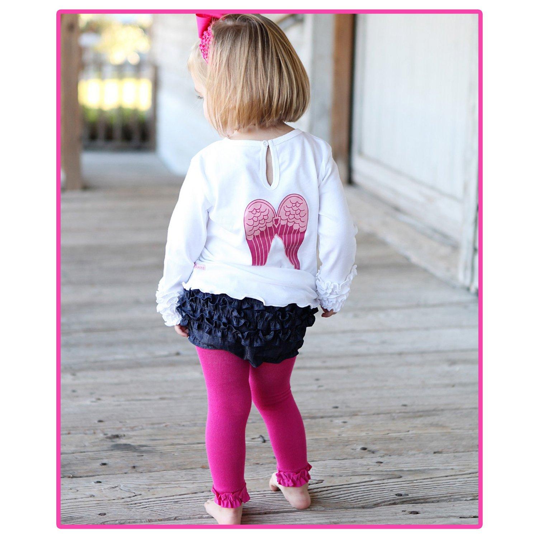 Ruffle butts red ruffled cardigan for baby girls