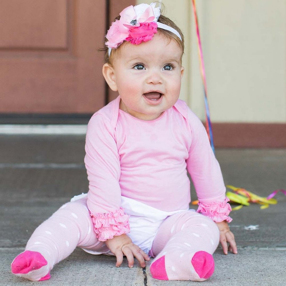 Complete her outfit with the sweetest accessory: tights! With durable material and adorable ruffles, you'll adore these tights for your baby topinsurances.ga Andersson.