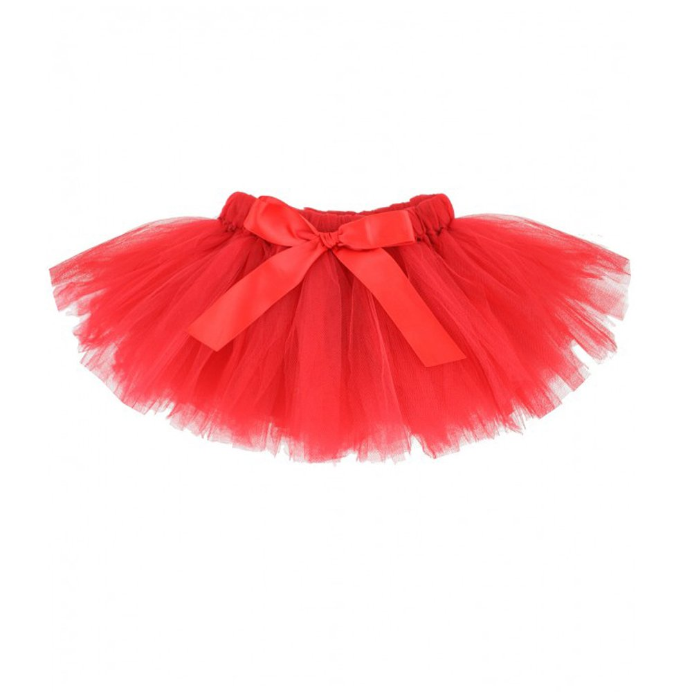 The Tutu Shop's Kids Red Tutu is over the knee length, 30 to 45 cm from the waist down. It's double layered for extra volume & the bodice is made of stretchy crochet to enable a perfect fit. I for one, can't wait to be a part of your wardrobe.