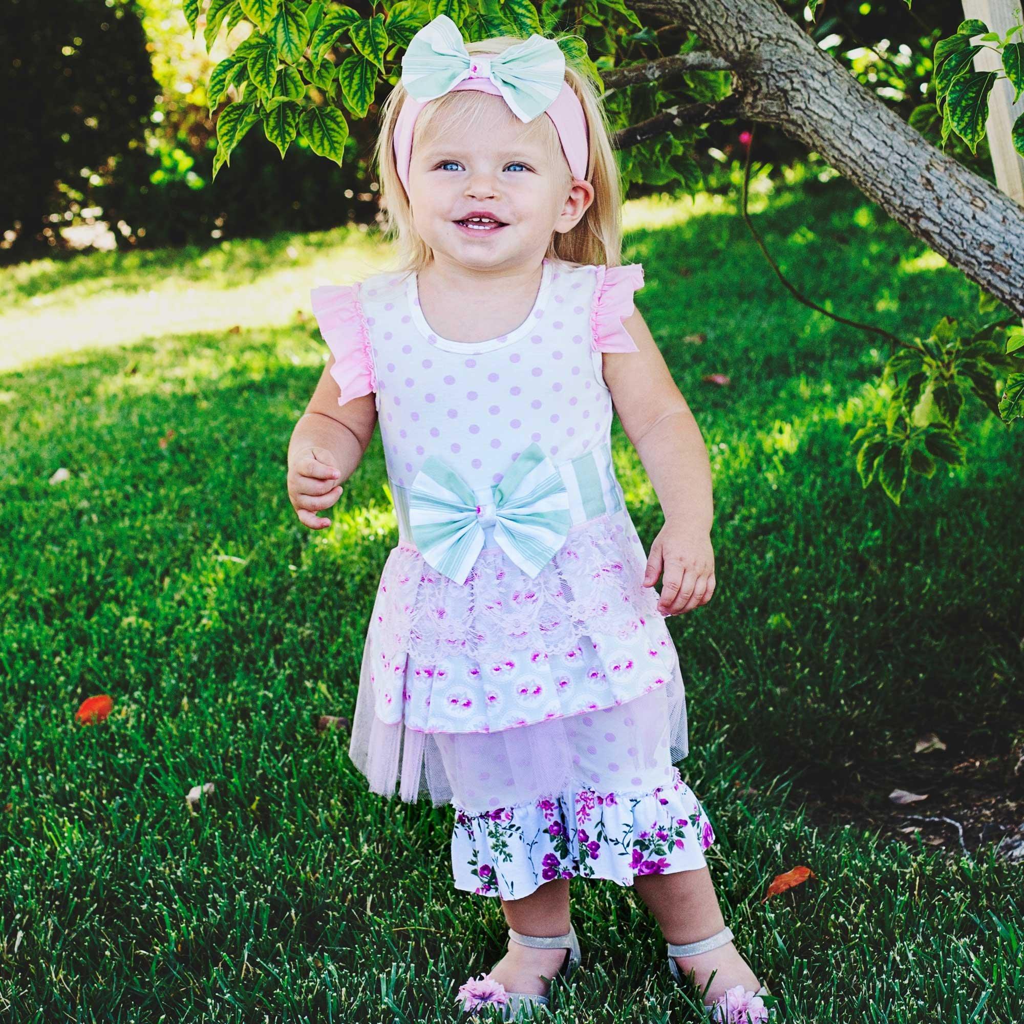718fa29e4d6 She Bloom Adison Romper for Baby Girls