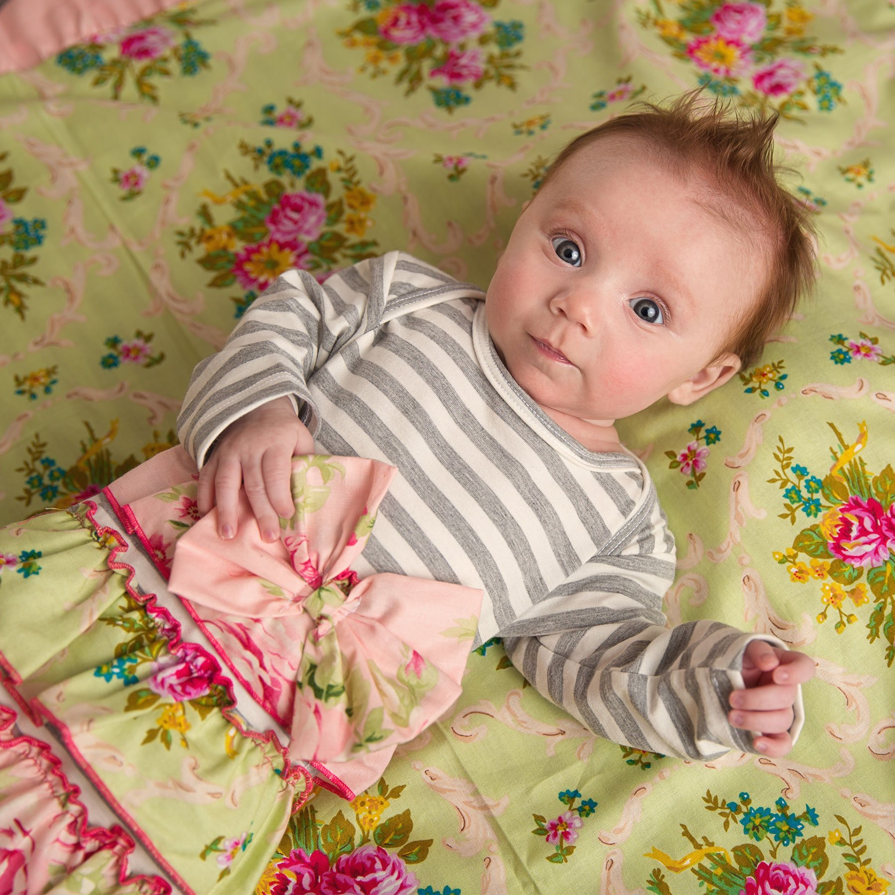 She Bloom Peggy Sage Newborn Gown