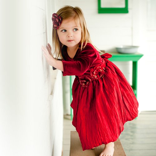 Holiday Toddler Dresses 3