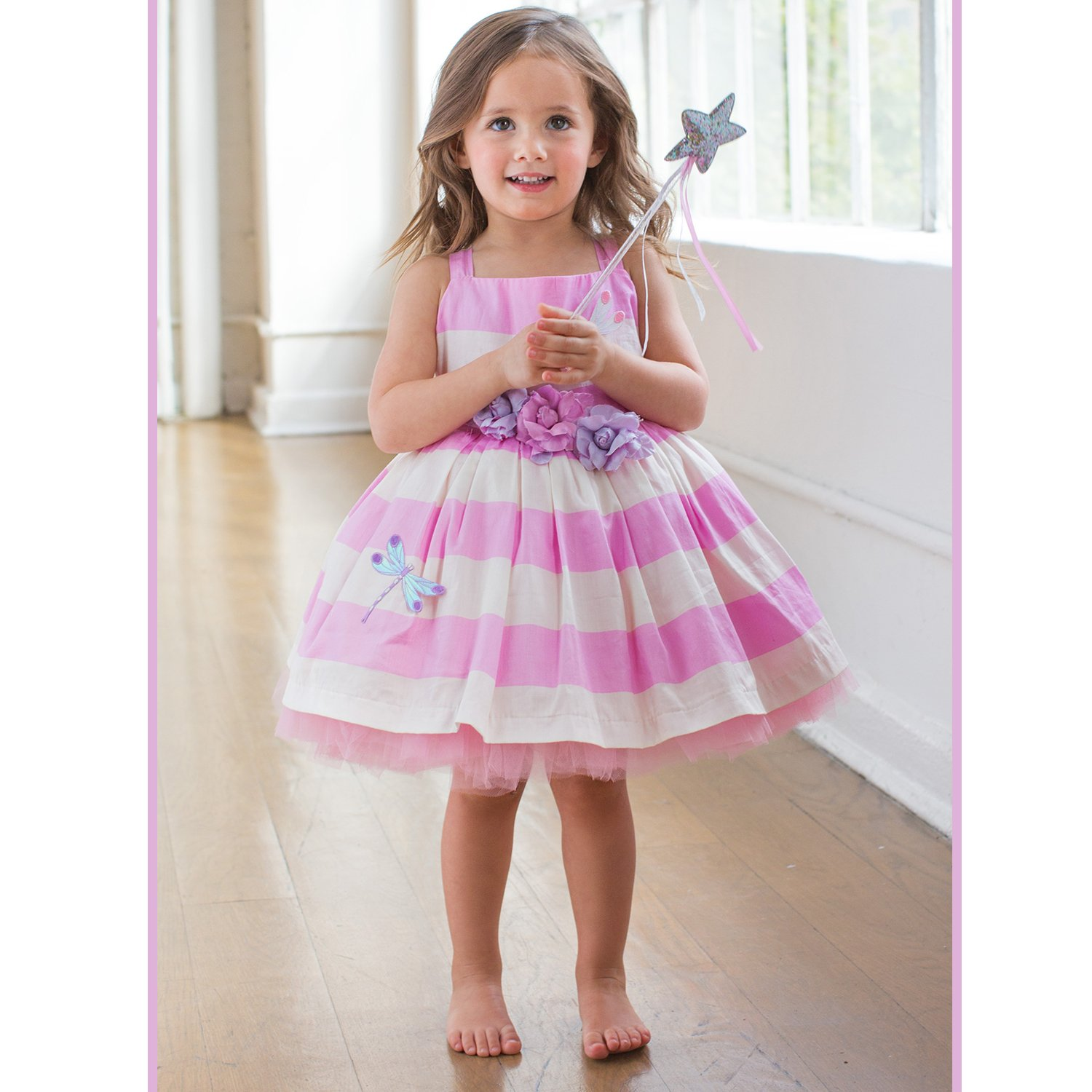 Tutu Couture Dragonfly Cotton Sateen Casual Tutu Dress