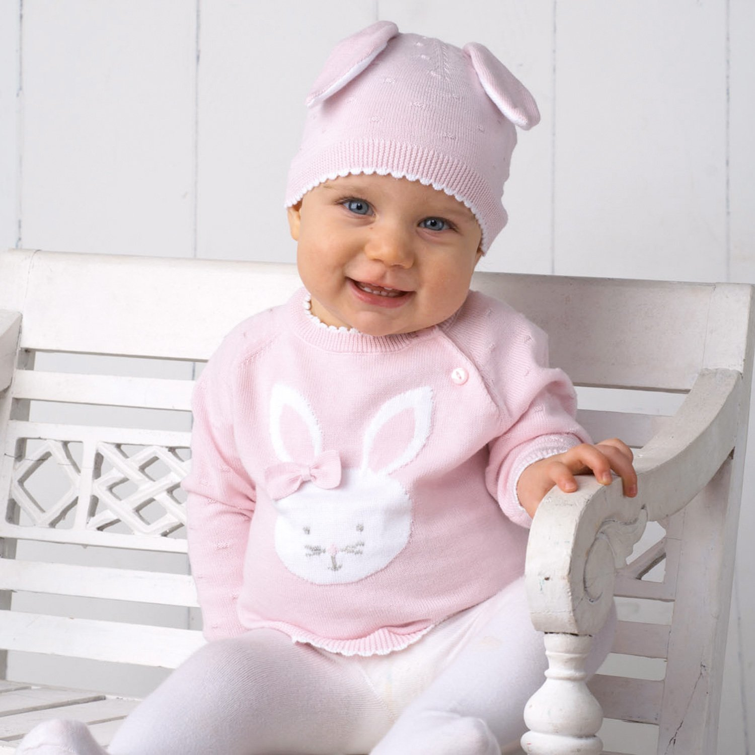 Bunny Hat and Sweater | Baby Bling Street Baby Fashion Boutique