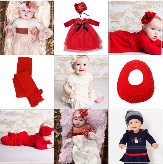 Baby s First Christmas – Our Favorite Newborn Holiday Ensembles ... f4c2edf9cb